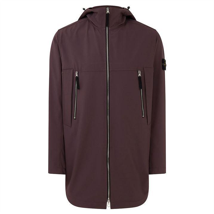 Light Soft Shell R E.Dye Long Jacket