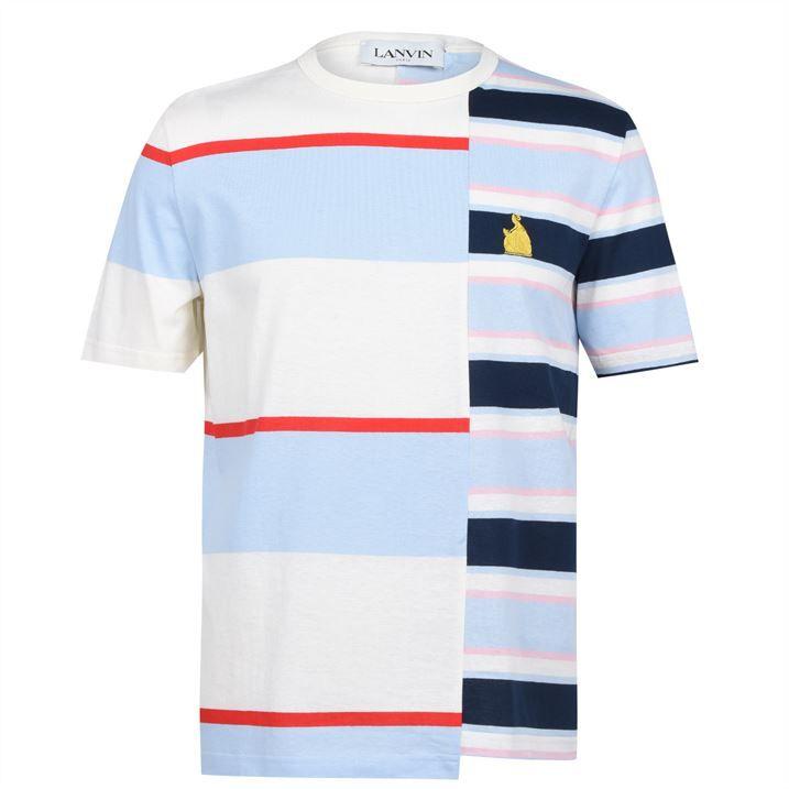 Mix Striped T Shirt