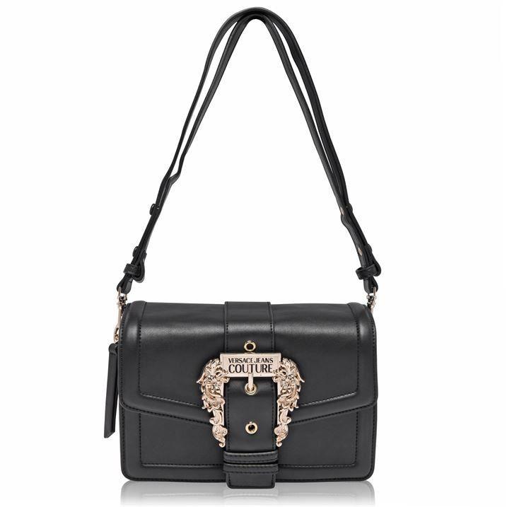 Versace Jeans Couture Buckle Shoulder Bag