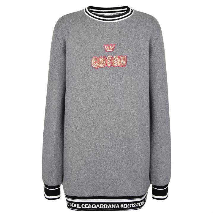Children Girls Queen Sweatshirt