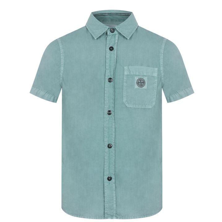 Junior Boys Short Sleeve Shirt