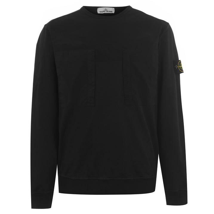 Mixed Garment Dyed Sweatshirt