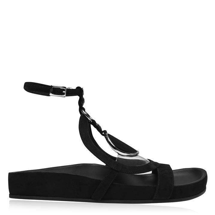 Stone Flat Sandals