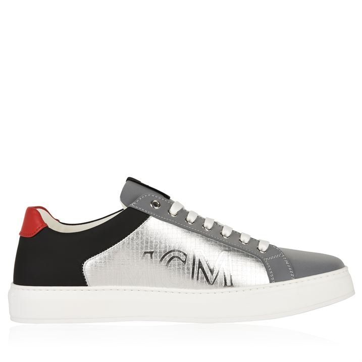 Reflective Low Top Trainers