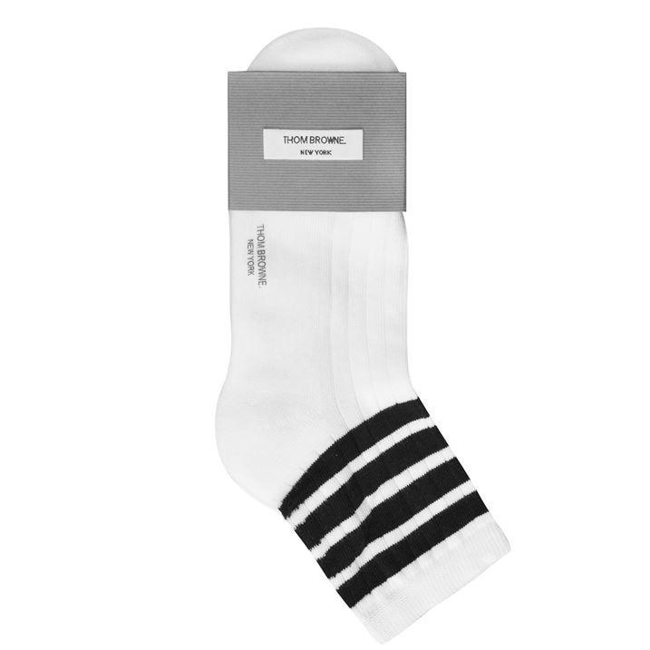 4 Bar Ankle Socks