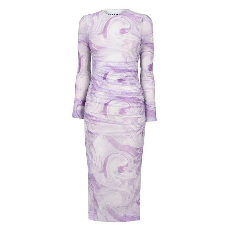 Ganni Mesh Dress Ld12
