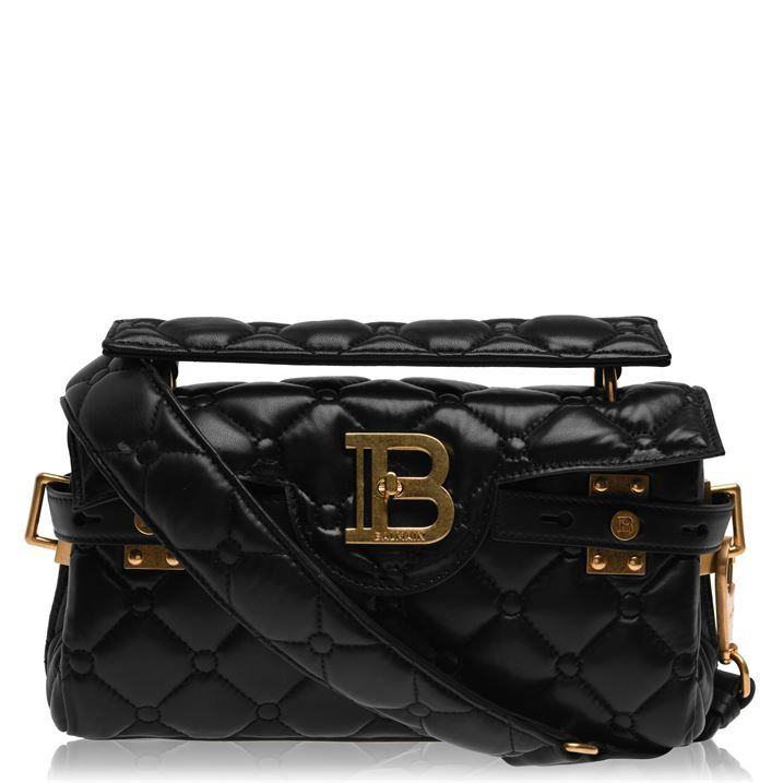 Quilted Leather Bbuzz 26 Pillow Baguette Bag