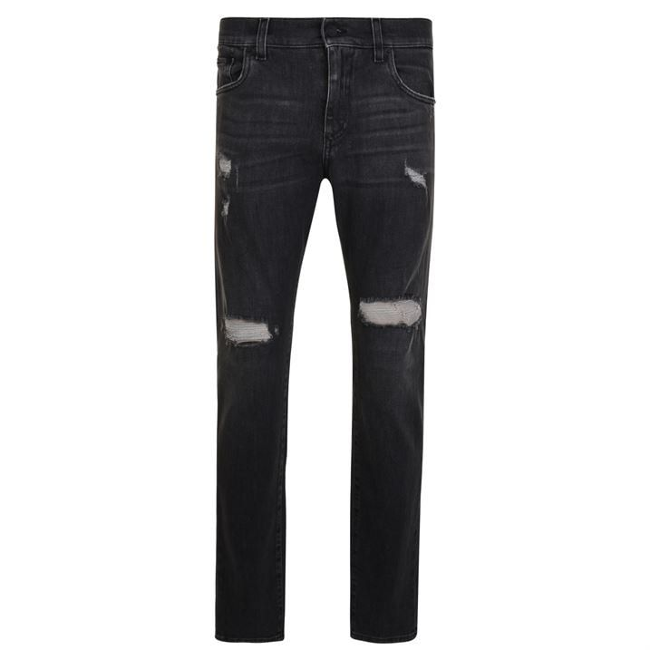 Destressed Slim Jeans