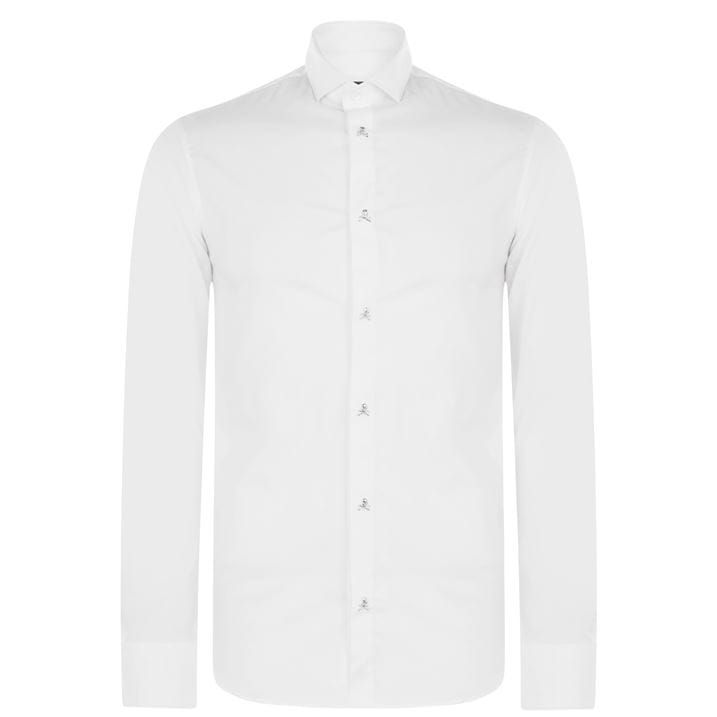 Basic Logo Long Sleeve Shirt