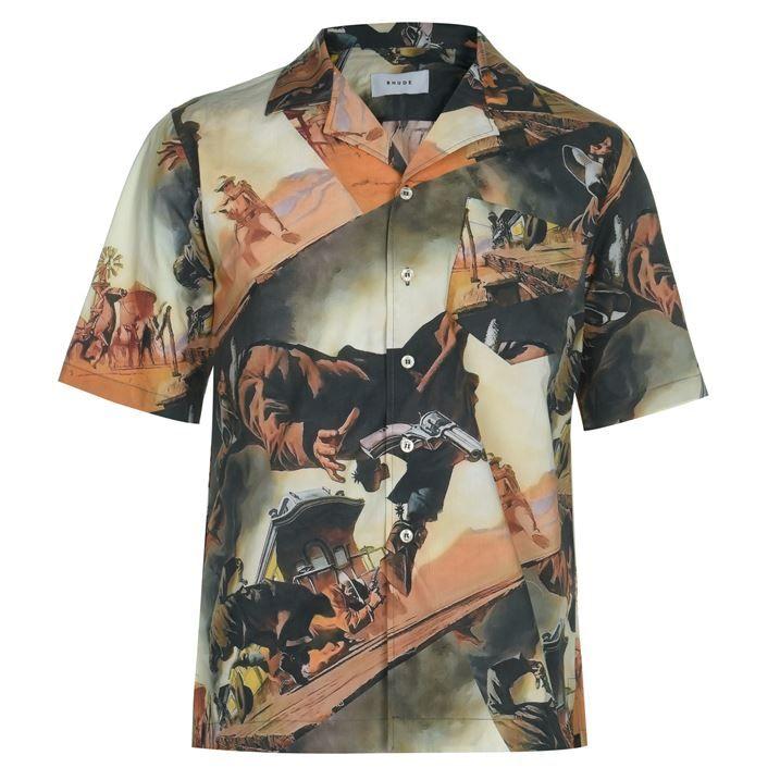 Gunslinger Hawaiian Shirt