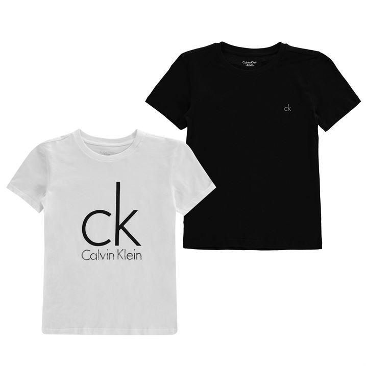 2 Pack Big Logo T Shirts