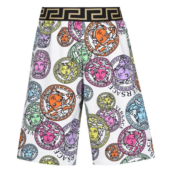 Medusa Print Shorts