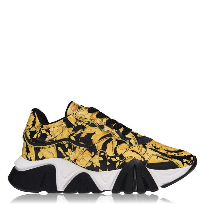 Squalo Barocco Print Sneakers