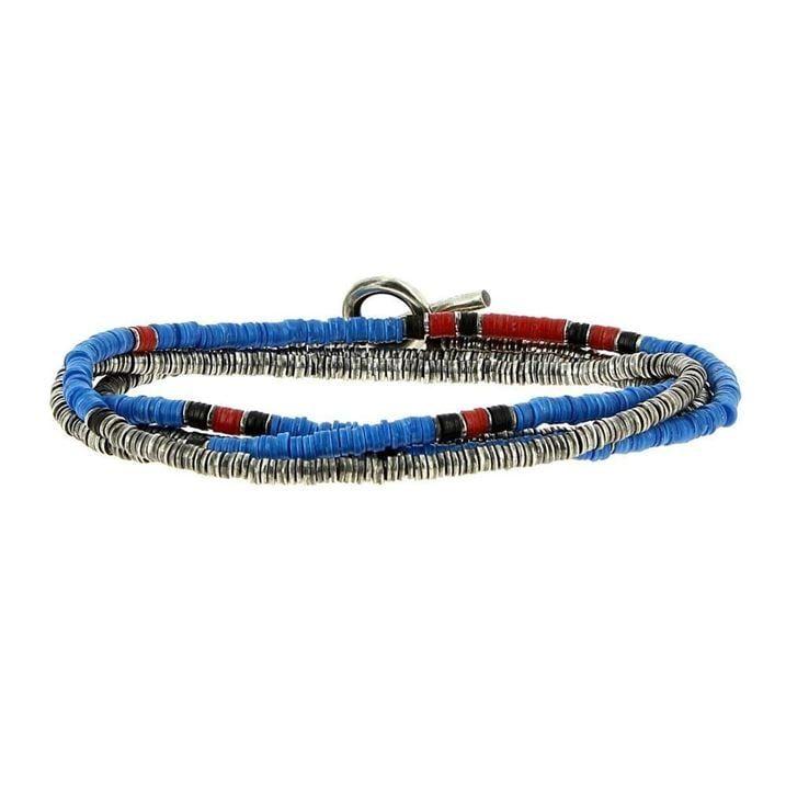 Light Blue Bracelet 4 Laps