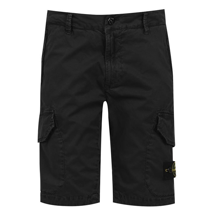 Junior Boys Canvas Cargo Shorts