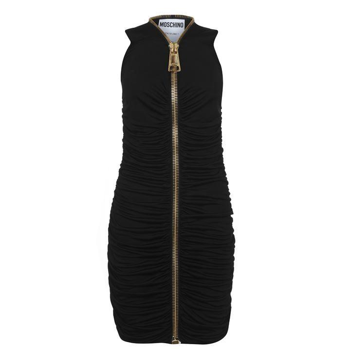 Moschino Zip Mini Dress