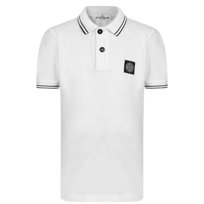 Junior Boys Tipped Polo Shirt