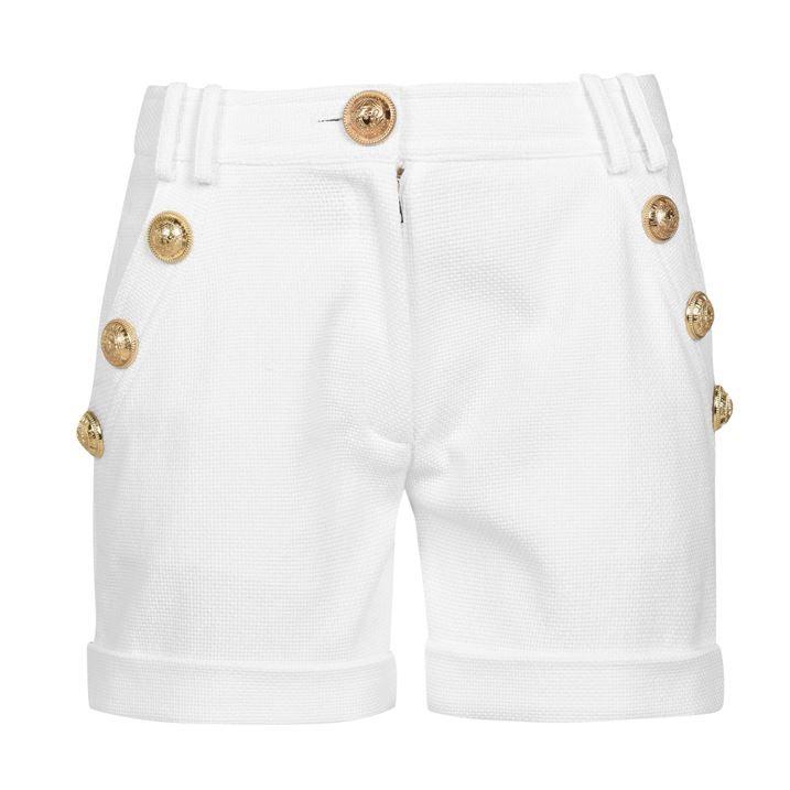 Button Shorts