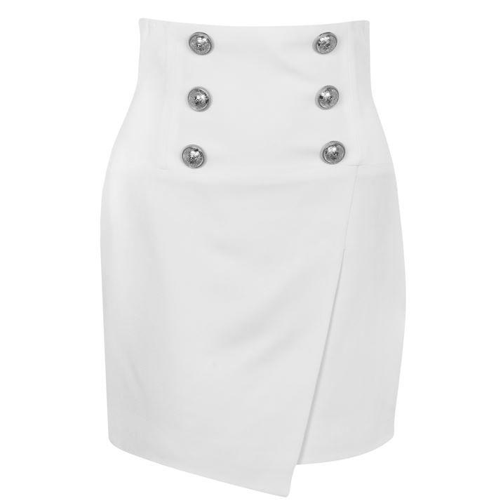 Hight Waisted 6 Button Skirt