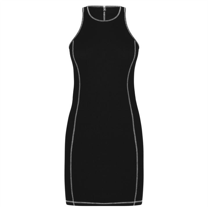 Slouch Midi Dress