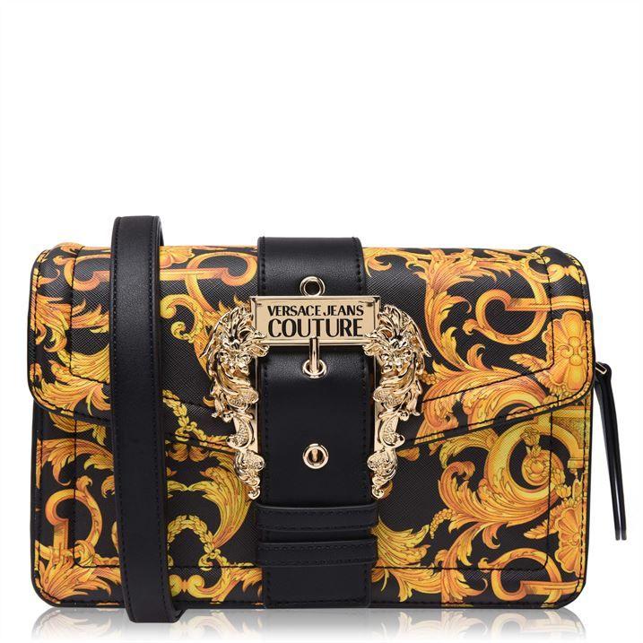 Baroque Buckle Shoulder Bag