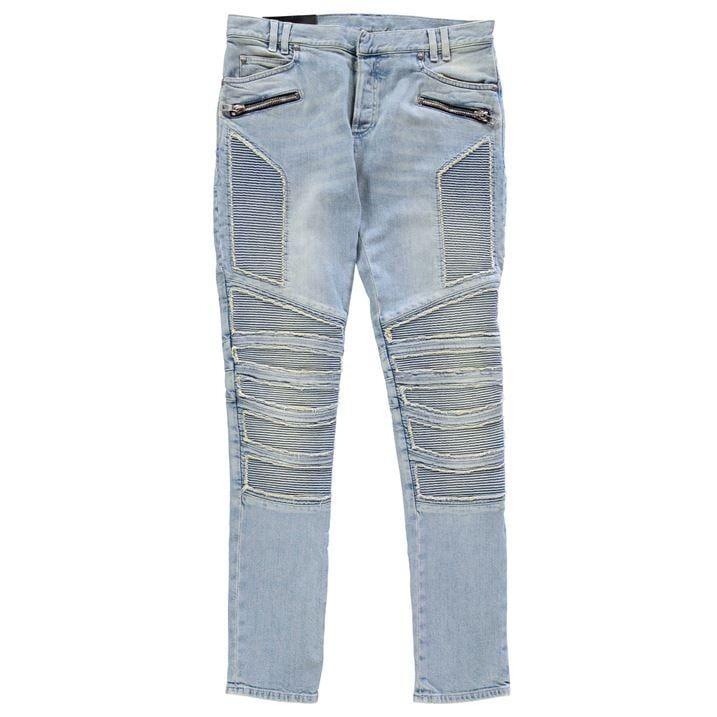 Rib Slim Jeans