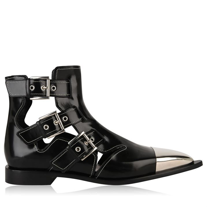 Cage Ankle Boots