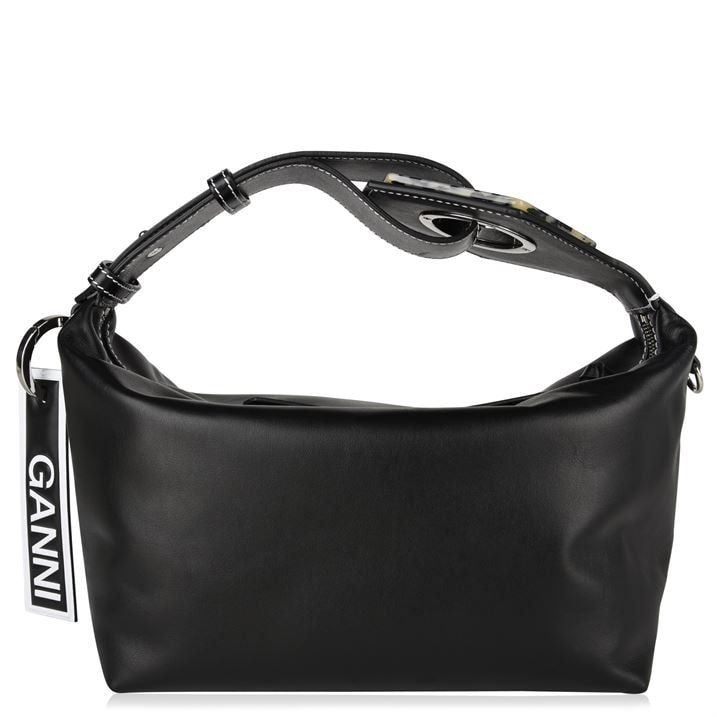 Leather Tortoiseshell Detail Bag