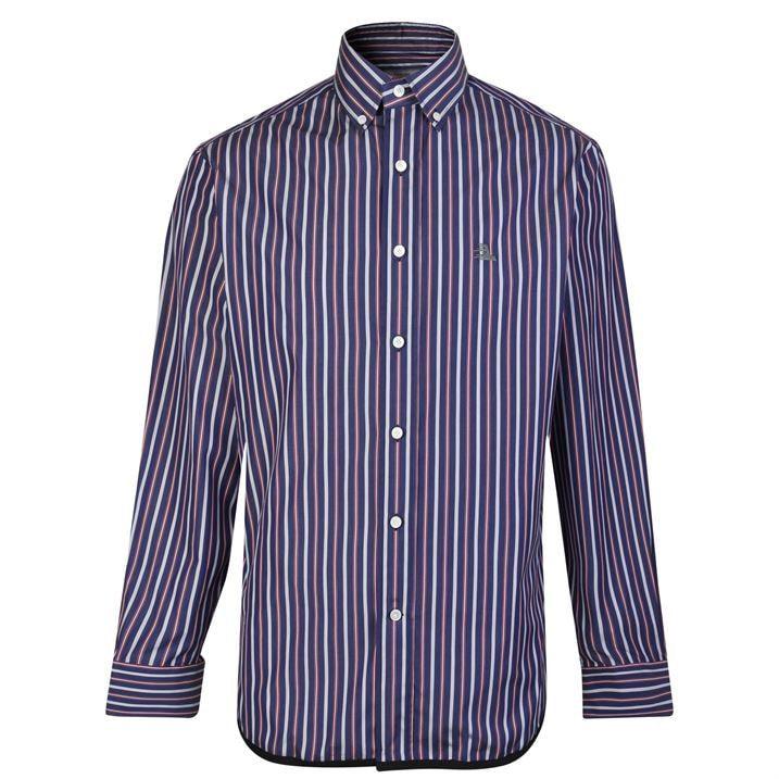 Button Down Stripe Shirt