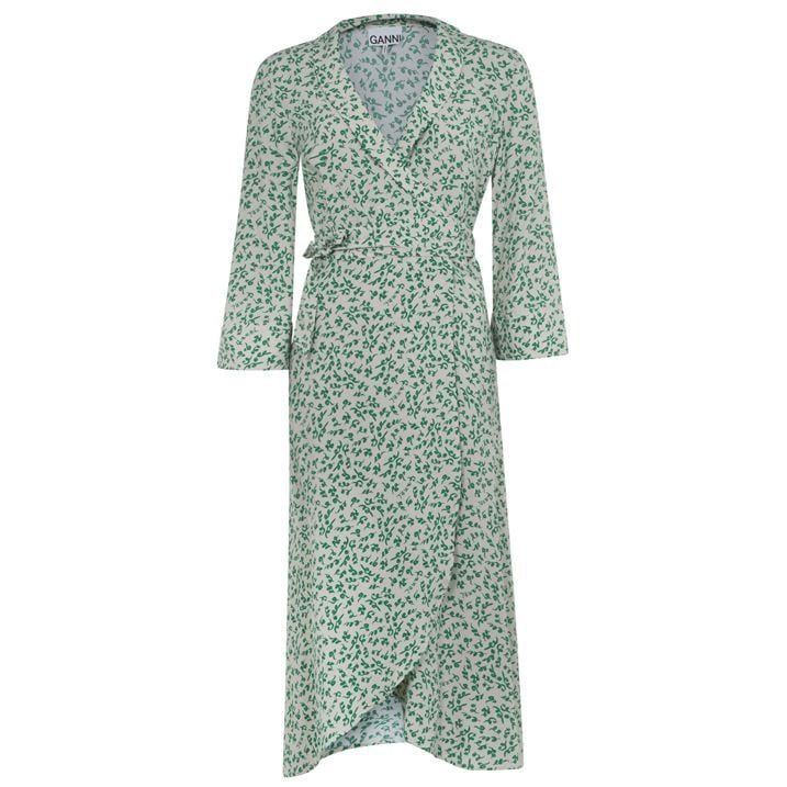 Flow Wrap Maxi Dress