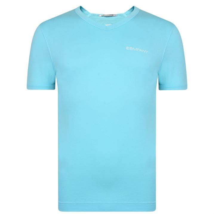 V Neck Logo T Shirt