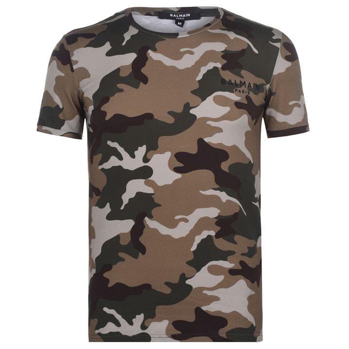 Camo Logo T Shirt