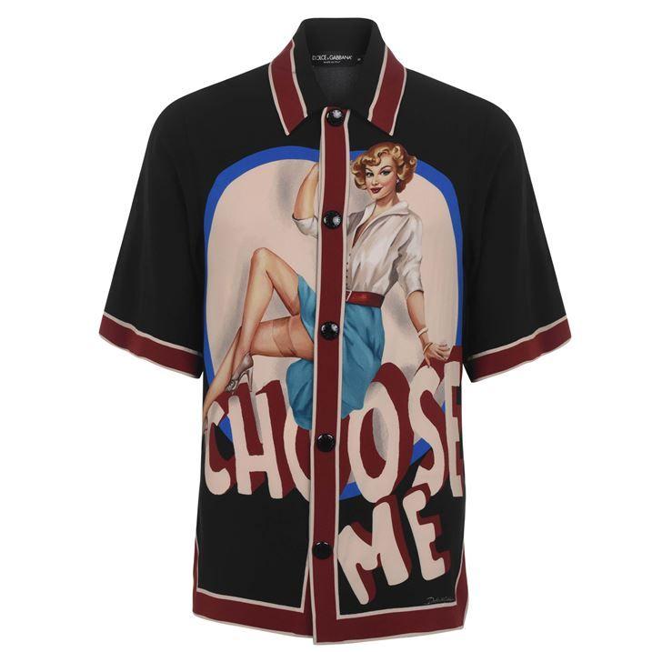 Pin Up Short Sleeved Shirt