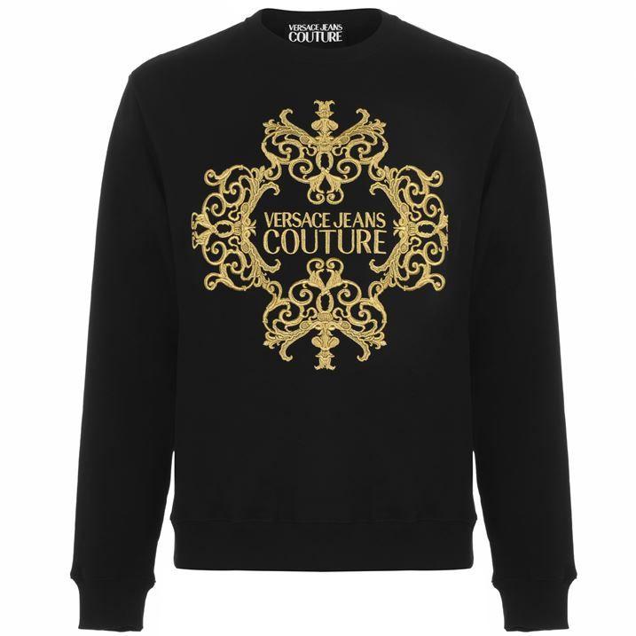 Baroque Motif Sweatshirt