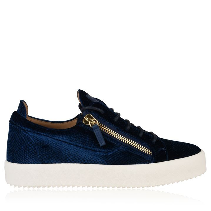 May Python Zip Low Top Trainers
