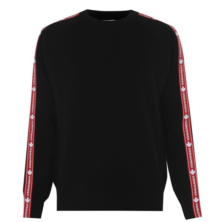 Tape Knitted Jumper