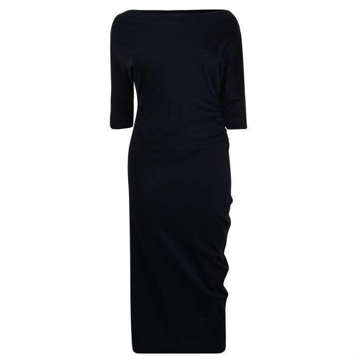 Short Sleeve Thigh Dress