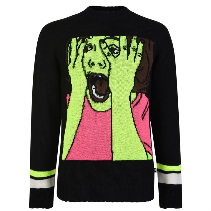Scared Knitted Jumper