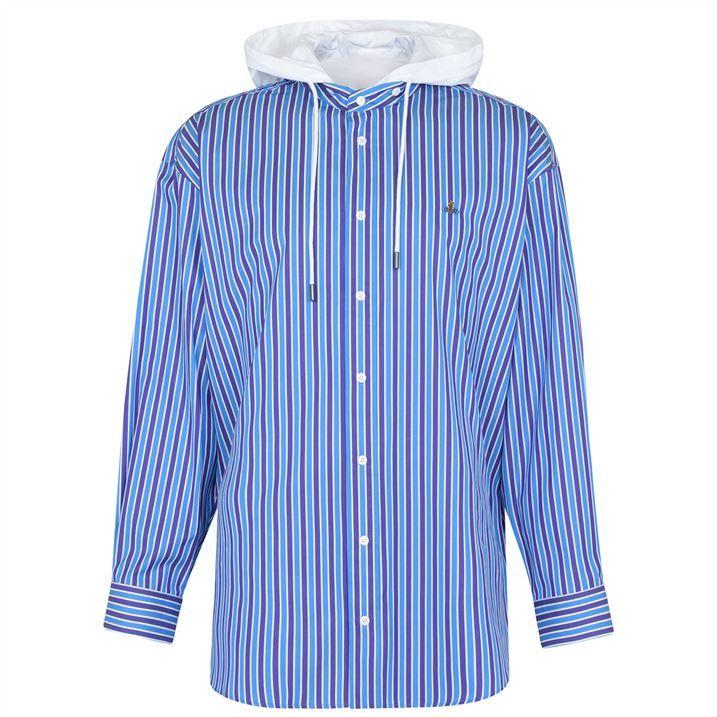 Stripe Hood Shirt