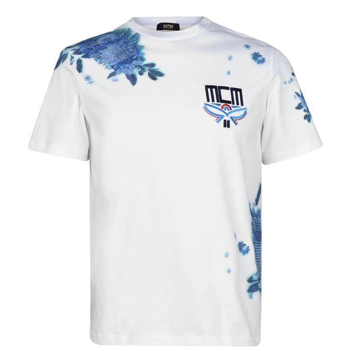 Flower Tech T Shirt