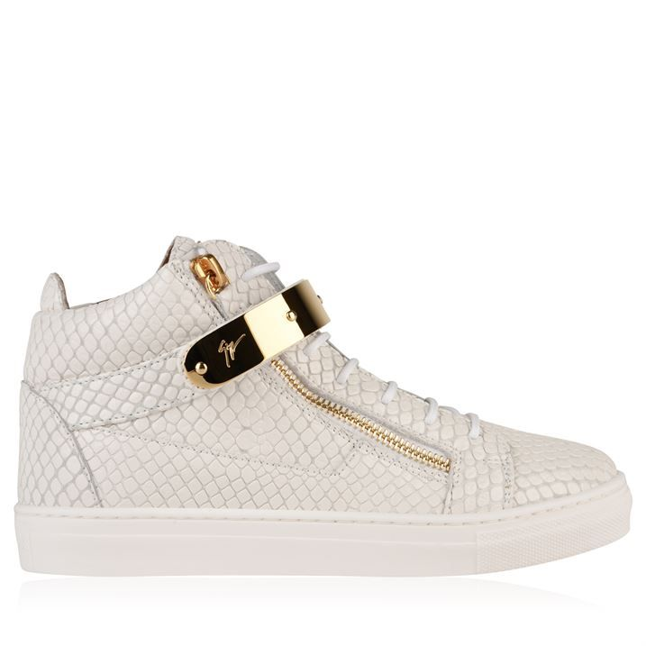 Children Unisex London May High Top Trainers