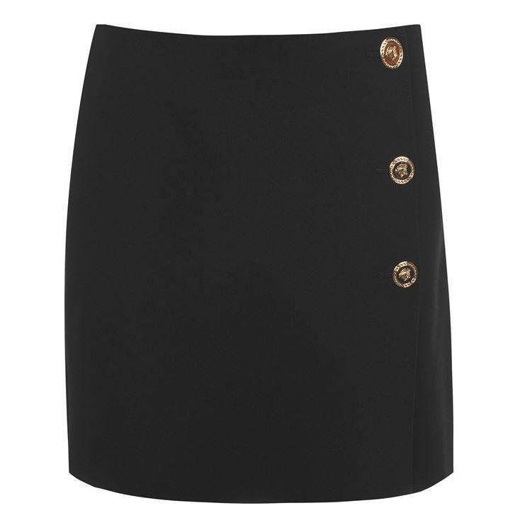 Versace Button Skirt