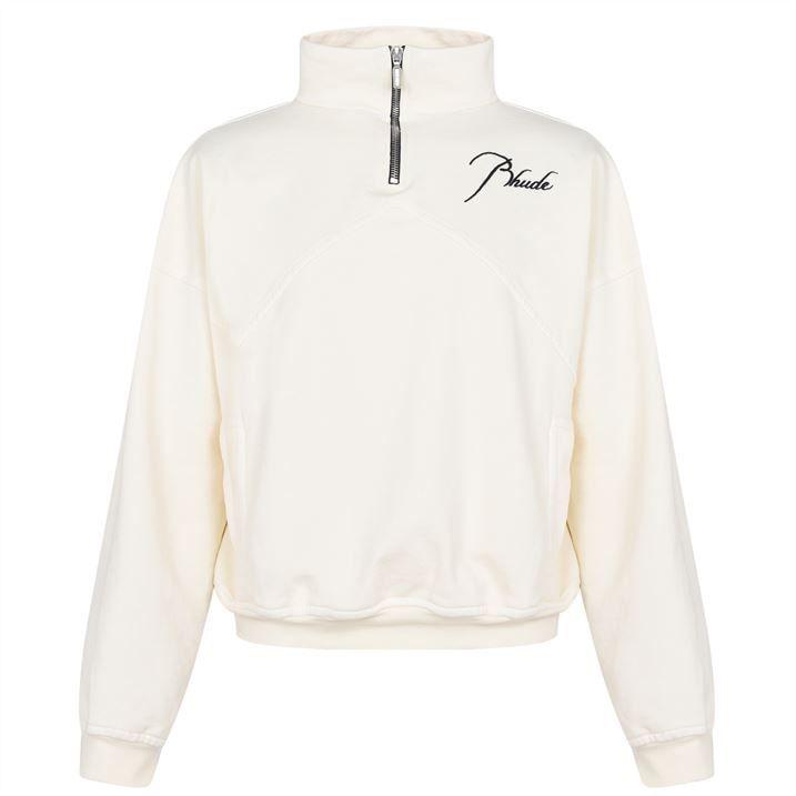 Signature Quarter Zip Sweatshirt