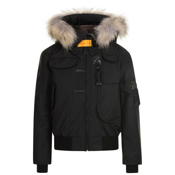Junior Boys Gobi Fur Coat