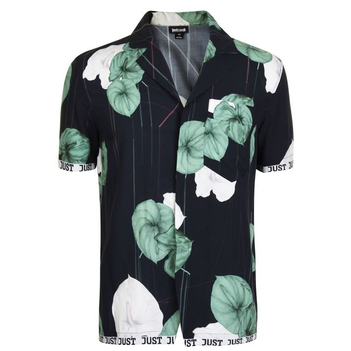 Sleeve Printed Shirt
