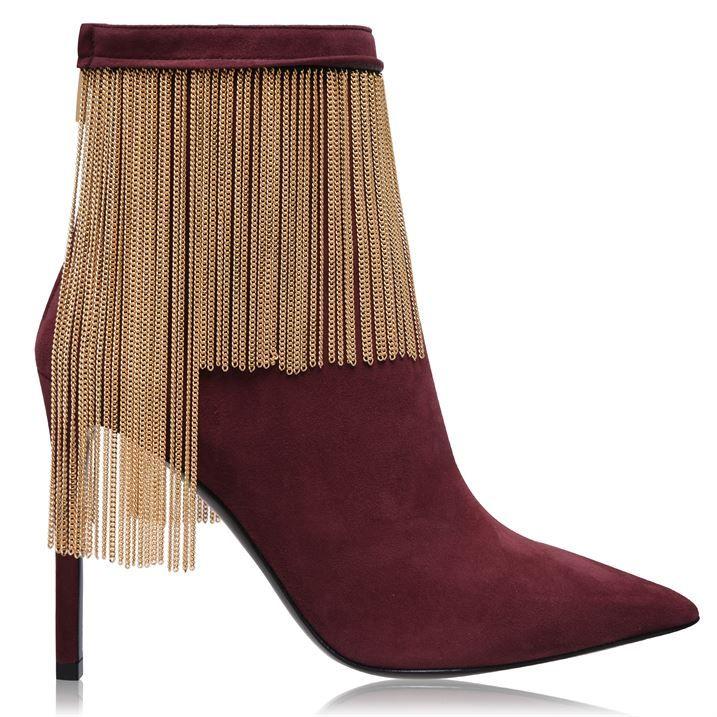 Mercy Suede Heel Boots