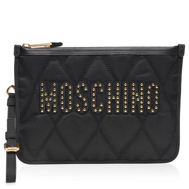 Stud Clutch Bag