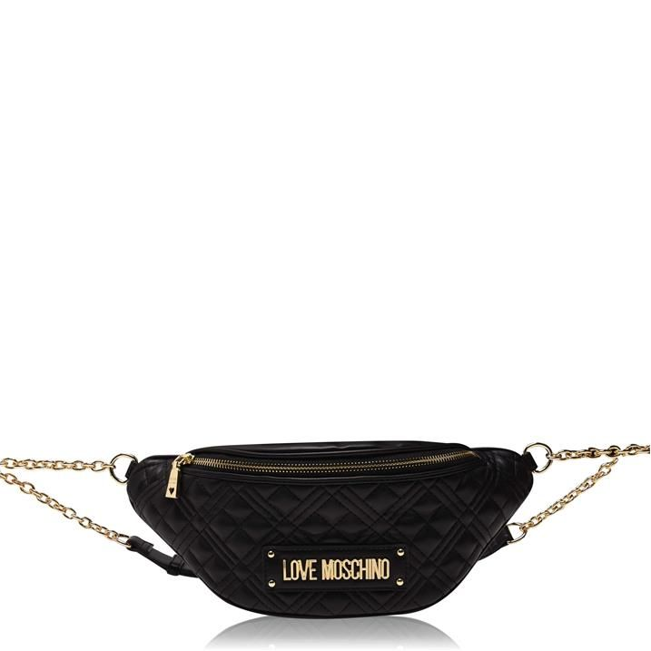 Quilted Chain Bum Bag