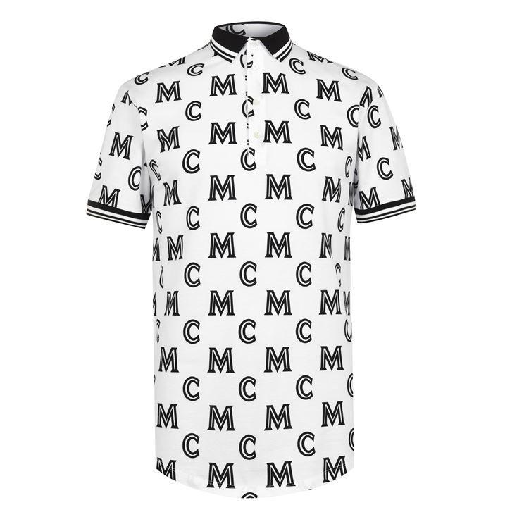 All Over Logo Polo Shirt
