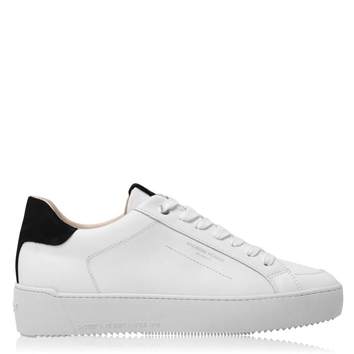 Zuma Leather Low Top Trainers